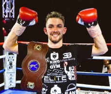 Kyle Williams became BBBofC Midlands Area Bantamweight Champion on 24 March 2018