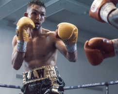Kyle Williams English Title Fight