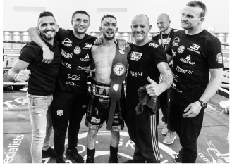 Kyle Williams wins the English Bantamweight Title on 9th June 2018