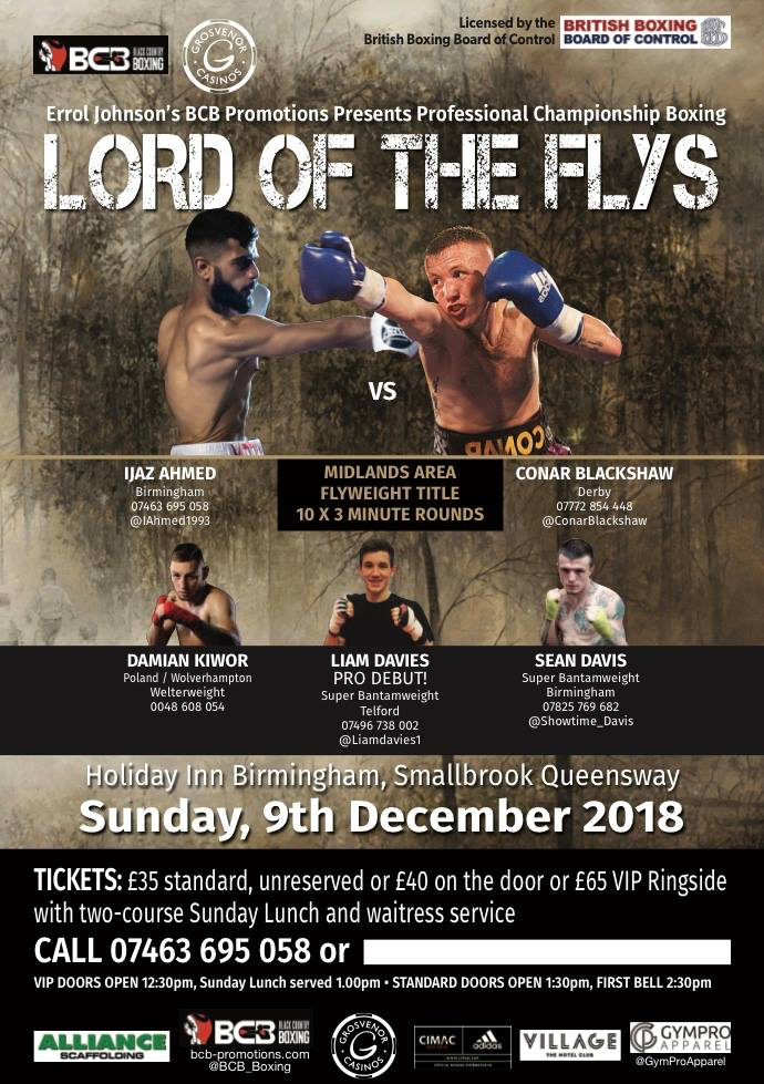 Lord Of The Flys is This Wkend