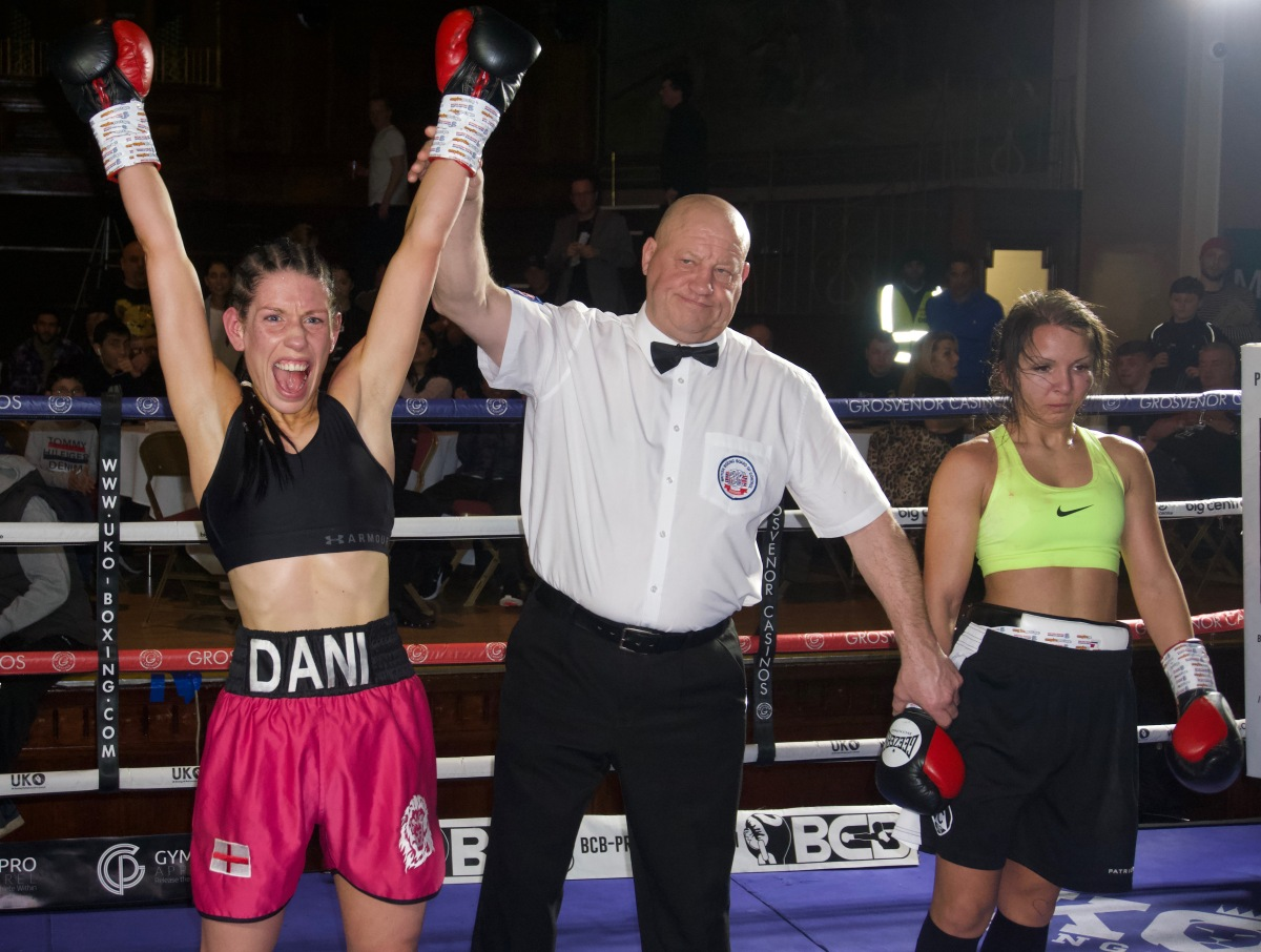 """Boxing is where my heart lies."" Dani Hodges talks to MBC"