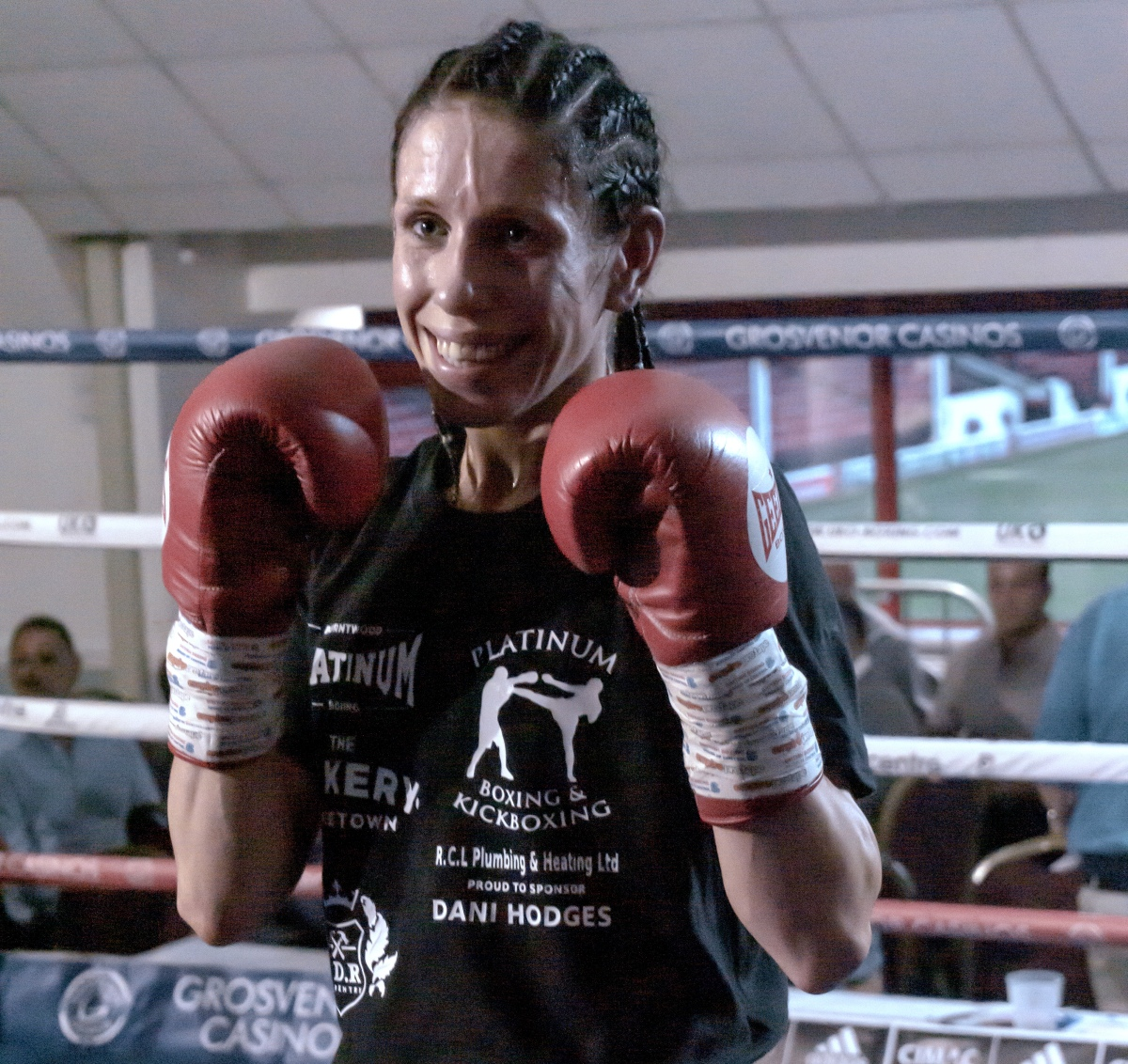 """It's time for me to prove that I'm a force to be reckoned with."" Dani Hodges"