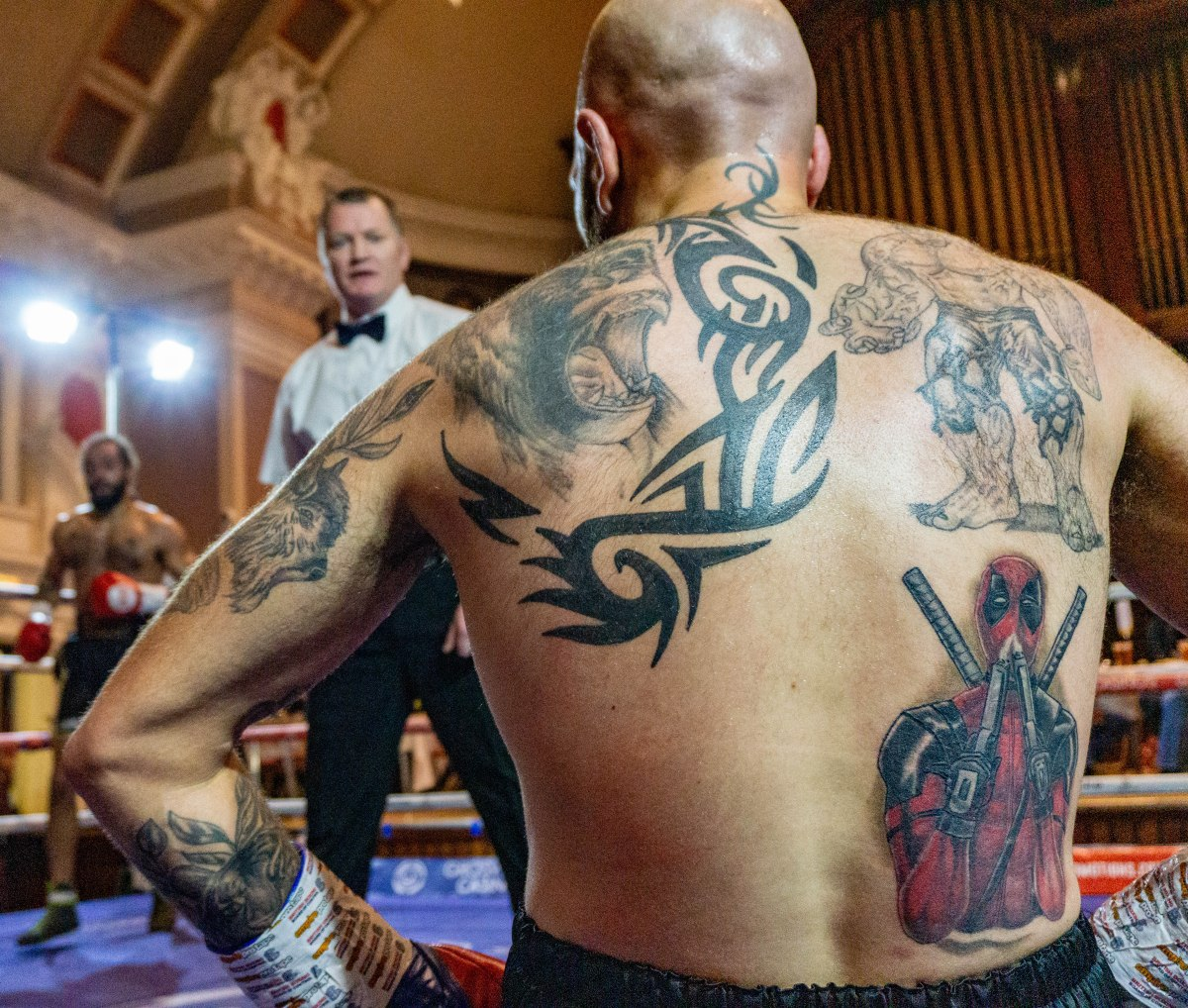 3 Absolutely Ace Boxer's Back Tatts
